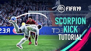 FIFA 19 | RAINBOW to SCORPION KICK Tutorial