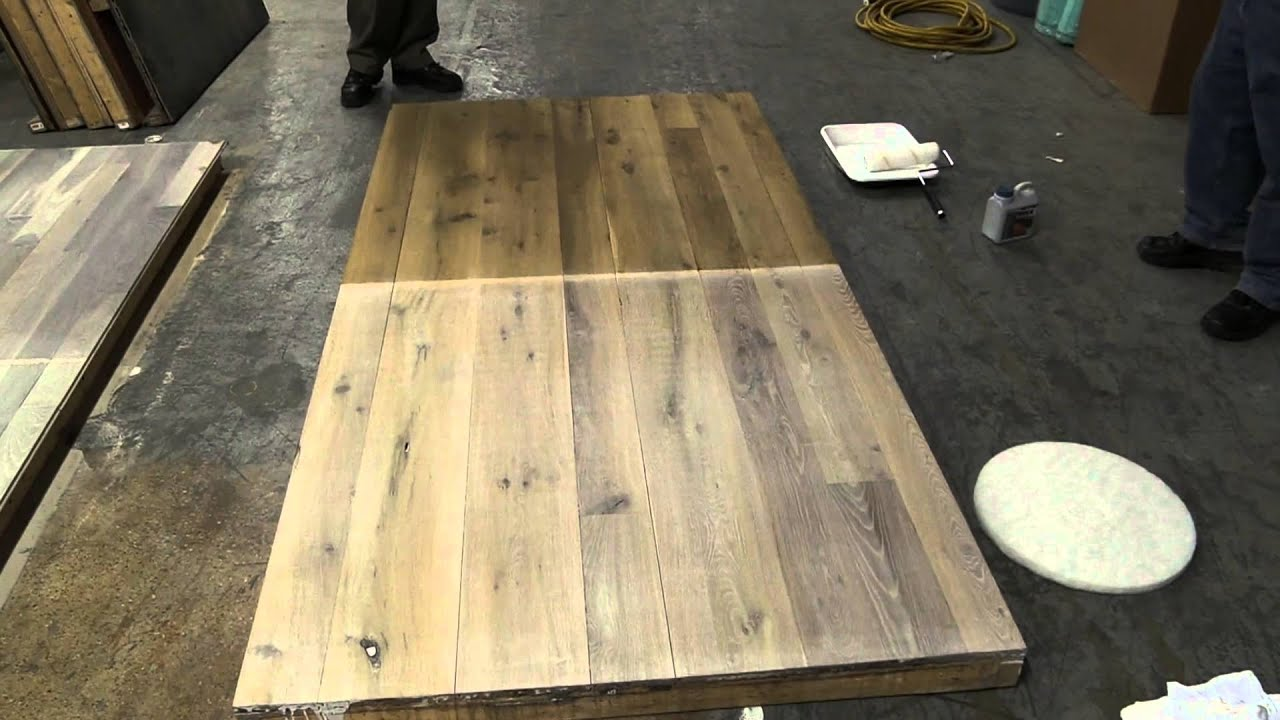 How To Apply Woca Oil Pretreatment To A Hardwood Floor