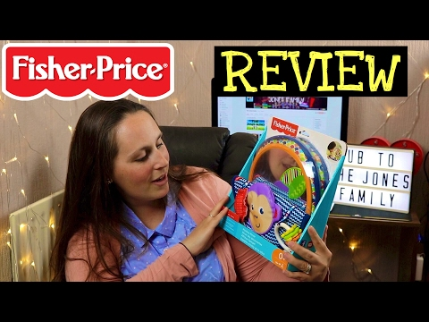 FISHER PRICE - JONATHAN ADLER SENSORY TOY REVIEW