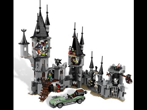 How To Build -LEGO Monster Fighters Vampire Castle (9468) 1 Of 2 ...