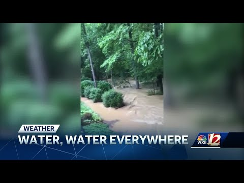 Storms, heavy rain cause flooding, down trees across the Piedmont Triad