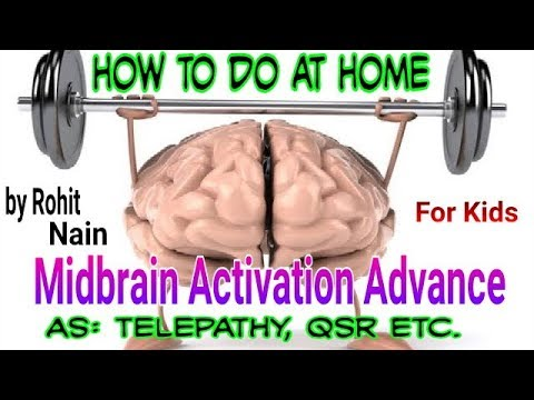 Midbrain Activation Advance At Home For Kids By Rohit Nain In Hindi