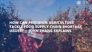 John Zhang Precision Agriculture Video