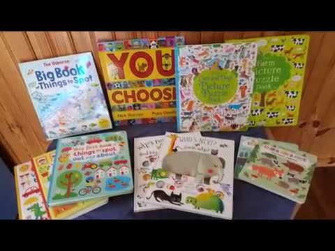 Usborne Open Ended Books Great for Speech Language and Critical Thinking!