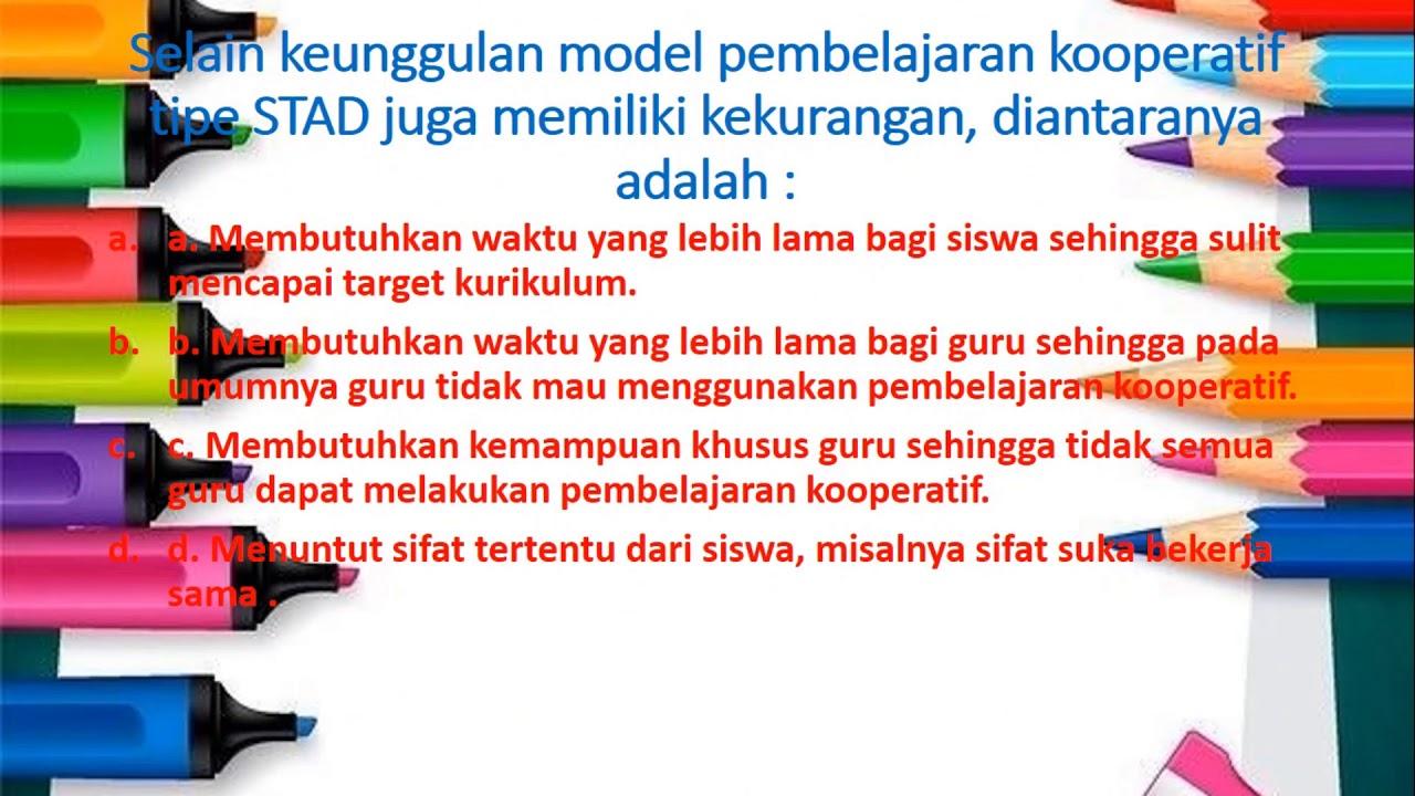 Model Pembelajaran STAD - YouTube