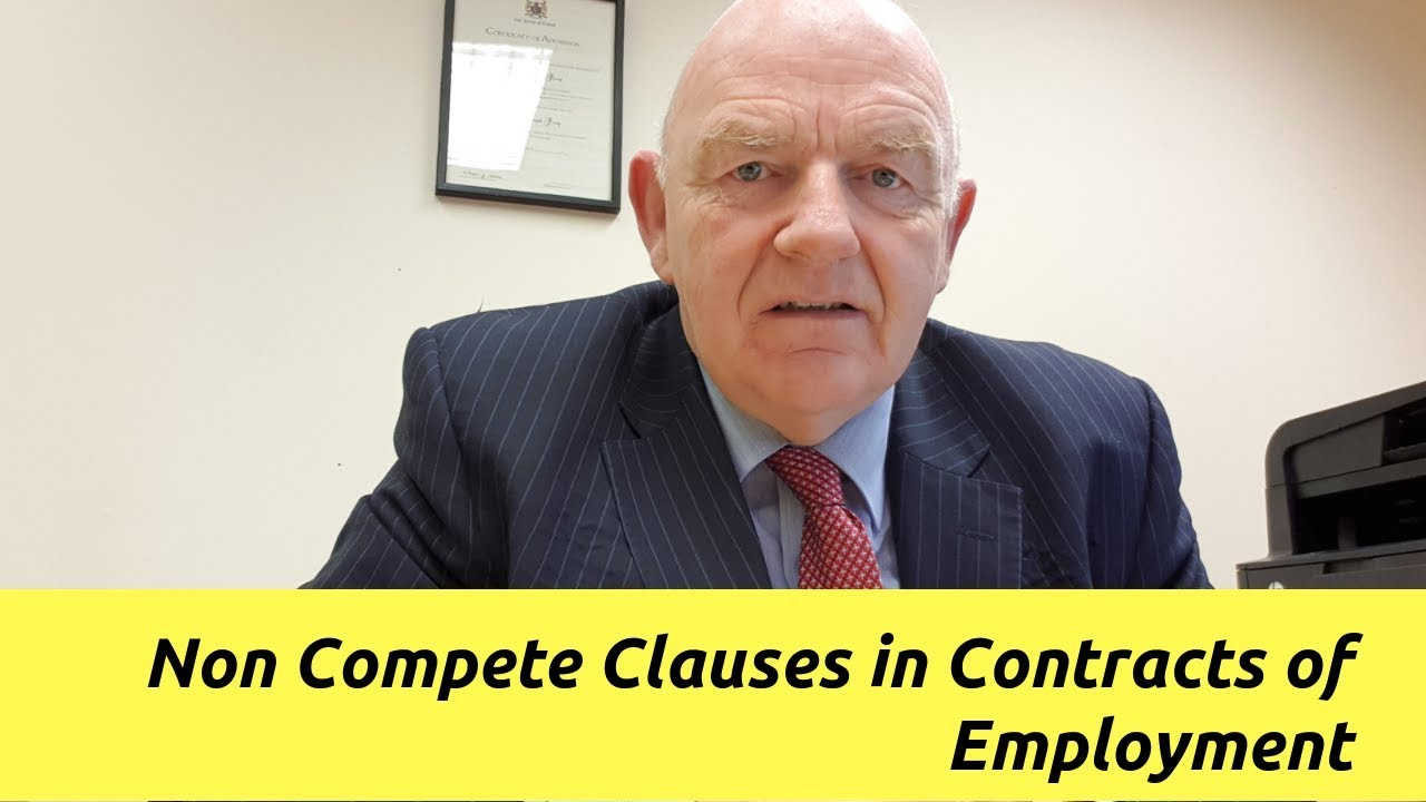 non compete clauses in contracts of employment non compete clauses in contracts of employment