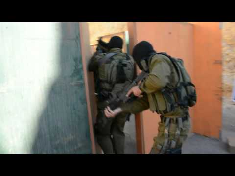 Amazing Israeli Counter Terror Team Training - Live Fire Hostage Rescue
