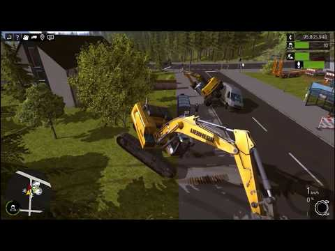 Construction Simulator 2015: Breaking The Game. |
