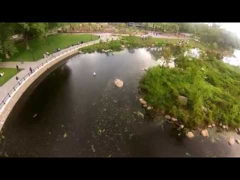 DJI Phantom Drone Flight - Lakeside, Prospect Park, Brooklyn NYC