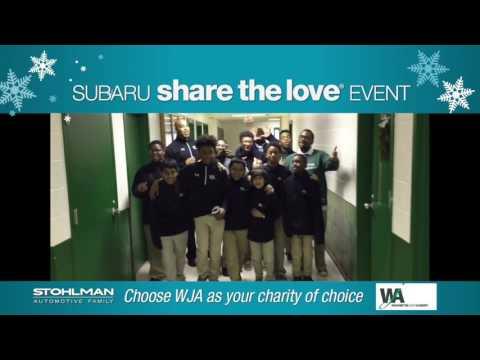 2016 Stohlman Subaru of Tysons #ShareTheLove with Washington Jesuit Academy