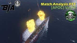 World of Warships- Match Analysis #11 (Vas79)