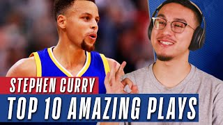 YouTubers React to Top 10 Plays of Stephen Curry