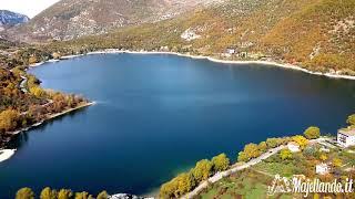 Il lago di Scanno a forma di Cuore in Abruzzo