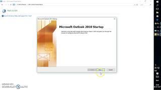 كيفية إنشاء ملف تعريف Outlook دون حساب البريد الإلكتروني