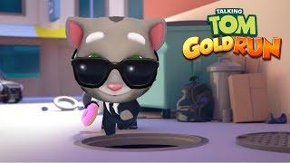 Talking Tom Gold Run Gameplay 2019