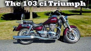 Road Triumph thunderbird vs king harley