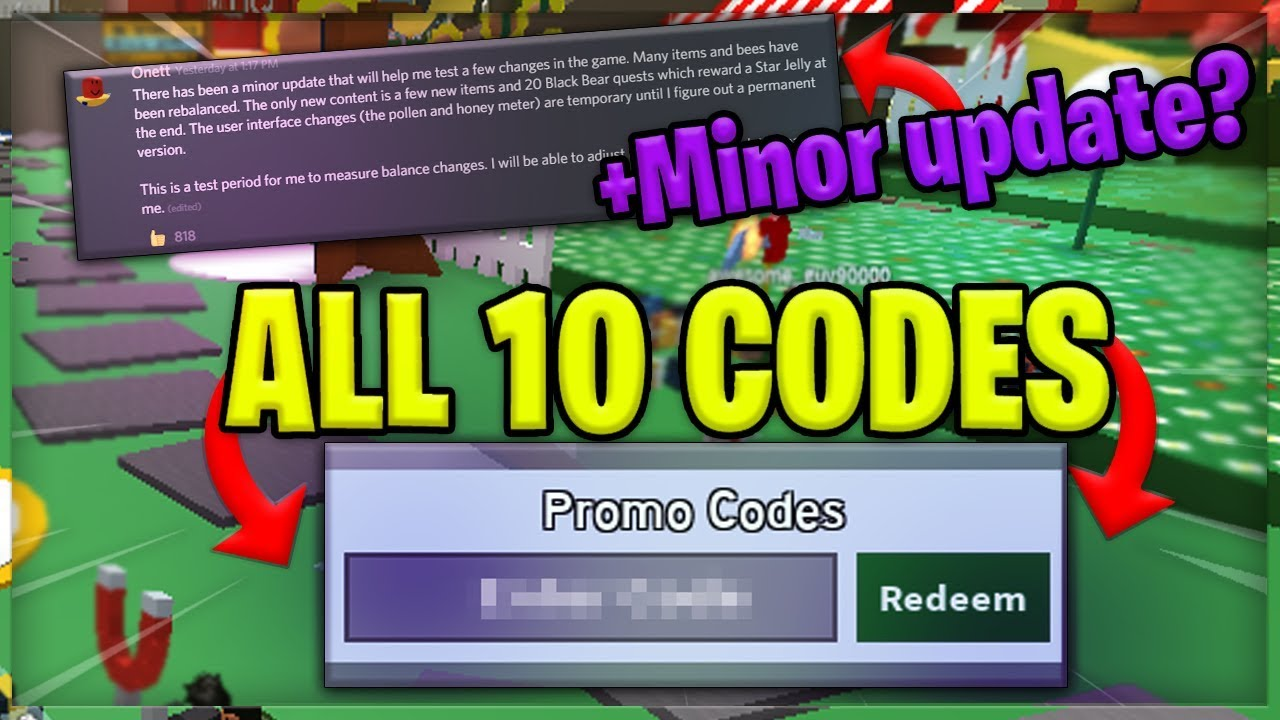 All 10 Working Bee Swarm Simulator Codes New Update Youtube