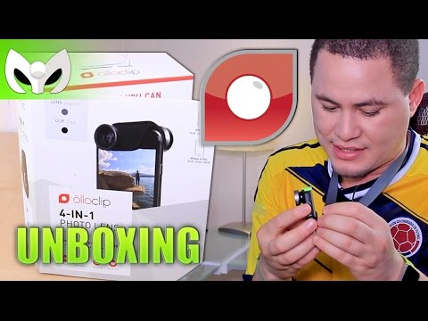 Nuevo OlloClip 4 en 1 para iPhone 6 y 6 Plus (Unboxing + Review)