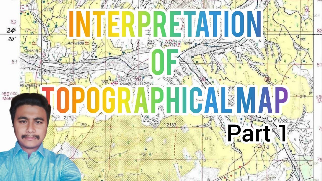 ICSE GEOGRAPHY   CLASS X    TOPOGRAPHICAL MAP   part 1