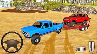 Pickup Truck & Range Rover Extreme Driving in Mud - Offroad Outlaws - Android Gameplay