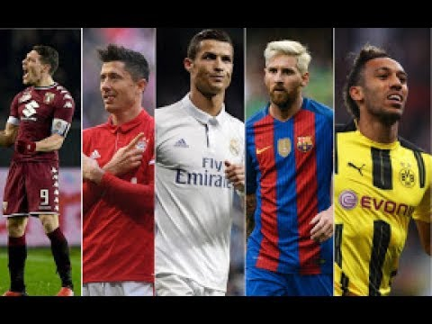 Top Goal Scorers in each Team 2016/17 pt.1