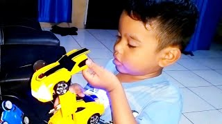 Zefa buka hadiah ❤ Mainan Mobil mobilan Robot, Plane and Car Toys for kids