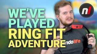 We've Played Ring Fit Adventure on Nintendo Switch... Is It Any Good?
