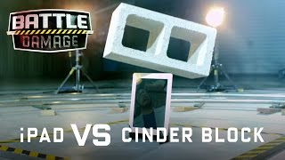 Apple iPad vs. Cinder Block - WIRED's Battle Damage