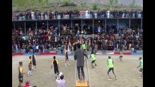 Volleyball Quarter Final Match In Nagar Valley - District Nagar VS District Gilgit - A Must Watch