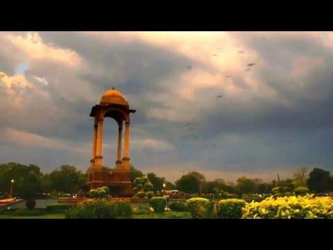 India gate Timelapse