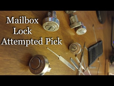 USPS Mailbox Lock Gut & Rake (Beginner)