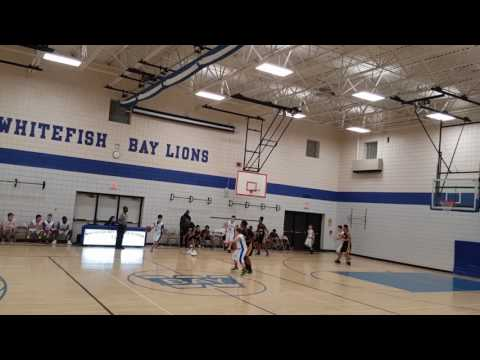Brown Deer Middle School Basketball 2016-2017 Game 13 Vs Whitefish Bay Middle School