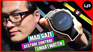 MAD Gaze: Smartest watch⌚with gesture controls - Unboxing & Review