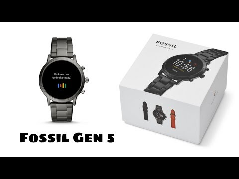 Fossil Smartwatch Gen 5 - Hindi