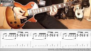 ★Motörhead - ACE OF SPADES Guitar Lesson / Tutorial + Tabs (4K HD+)