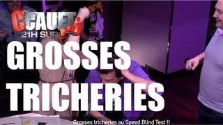 Grosses tricheries au Speed Blind Test !! - C'Cauet sur NRJ