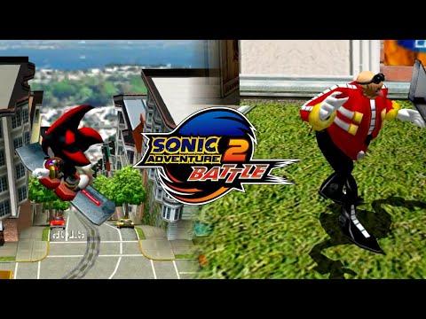 Sonic Adventure 2 Battle: Everyone In City Escape