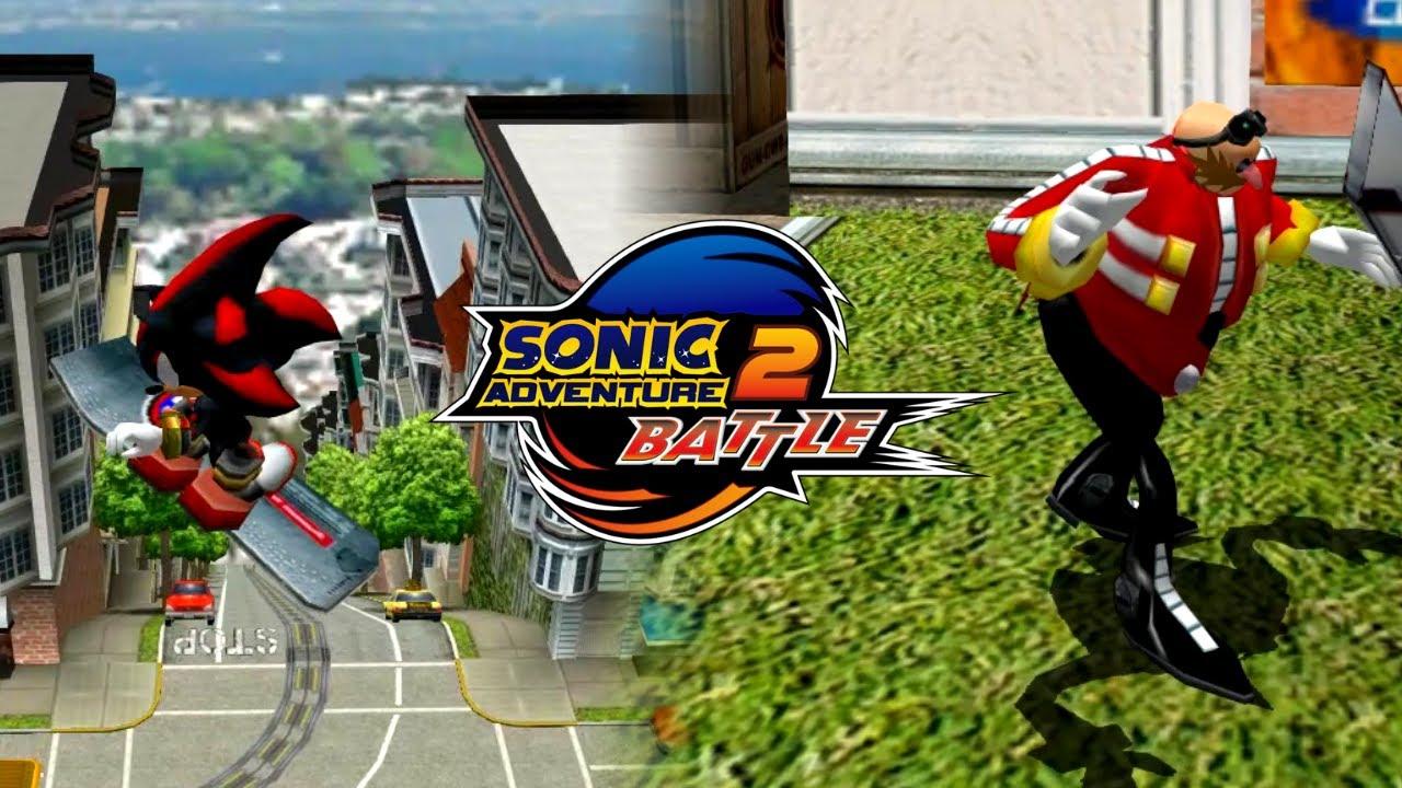 Sonic Adventure 2 Battle Everyone In City Escape Youtube