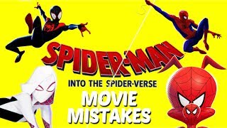Spider-Man Into the Spider-Verse Movie Mistakes   Superhero Mistakes