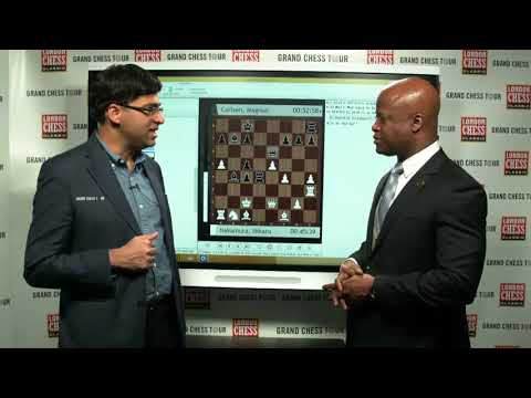 Man against the Machine: GM Viswanathan Anand and GM Maurice Ashley