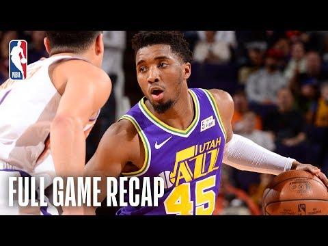JAZZ vs SUNS | Donovan Mitchell & Rudy Gobert Shine In Phoenix | March 13, 2019