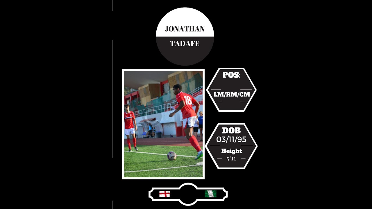 Jonathan Tadafe | LM/LWB/LW | Season Highlights | 2015 ...