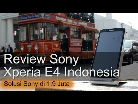 Review Sony Xperia E4 Indonesia 1,9Juta ala Sony
