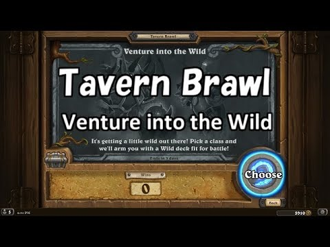 [Hearthstone] Tavern Brawl Venture into the Wild No Commentary (2018/2/22)