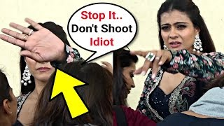 Kajol Angry On Media For Shooting While Getting Ready For Best Dramebaaz Show