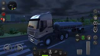 Truck Simulator 2018 Europe #2 Cargo Night Transport - Android Gameplay FHD