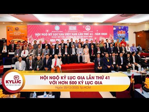 Kyluc.tv| Hội ngộ Kỷ lục gia VN lần 41: Cuộc gặp gỡ của 500 Kỷ lục gia 'Trọn đời sáng tạo tinh hoa'