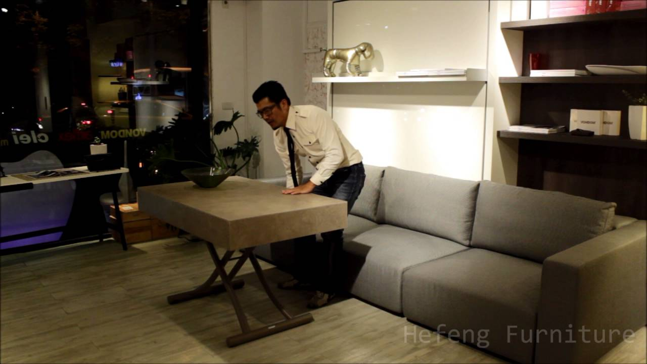 Kitchen Table High Top Sink Farmhouse Style 可變大變小茶几變餐桌 Taiwan 台灣 禾豐家具 Youtube