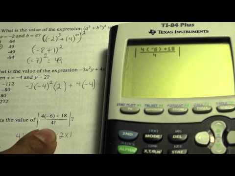 beker algebra regents prep part 1