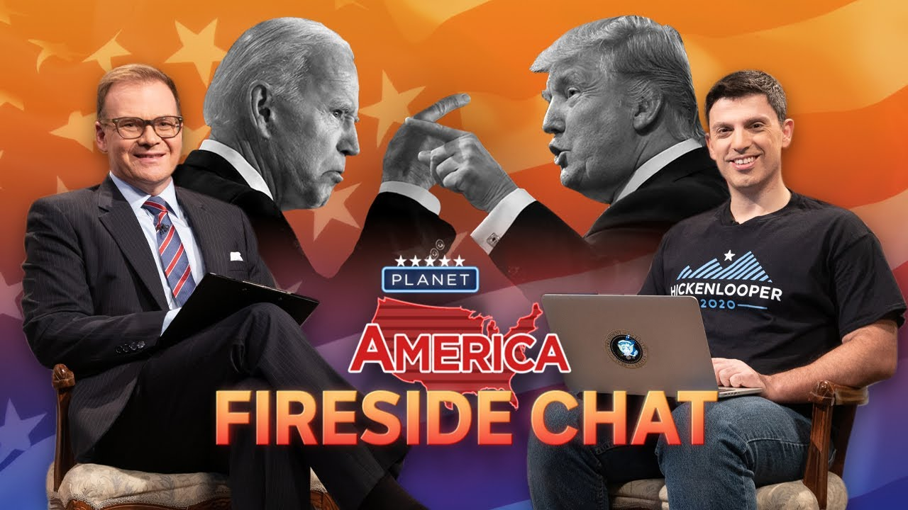 Trump V Biden, who is winning? | Planet America: Fireside Chat